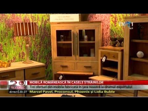 "Mobila ""made in Romania"", un succes de export"