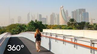 EXPLORING DUBAI in 360°   Virtual Reality 4K