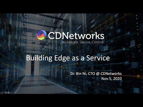Building edge as a service