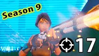 My First Win In Season 9 (Fortnite Battle Royale)
