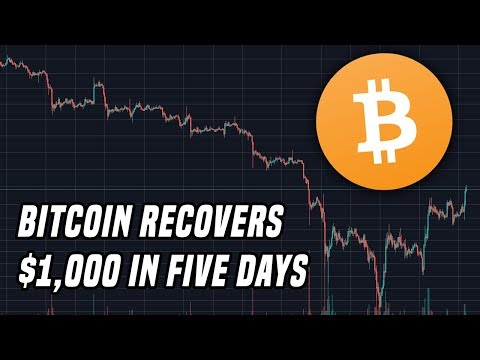 "Bitcoin Recovers $1,000 Over Five Days | ECB Implements ""Tiering"" On Negative Interest Rates"