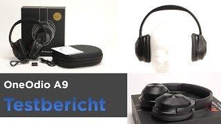Der OneOdio A9 im Test - Bluetooth-Kopfhörer mit ANC - Überraschend gutes ANC
