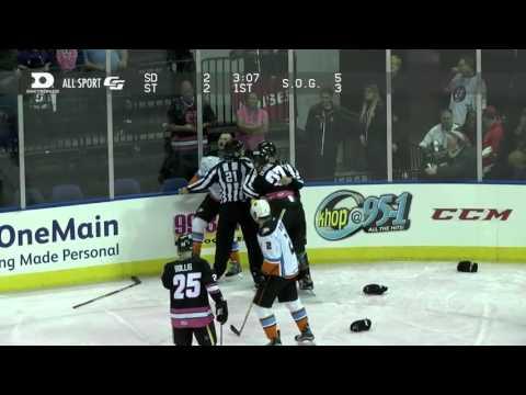 Jamie Devane vs. Nick Tarnasky