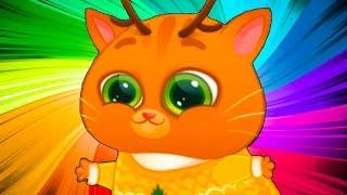 КОТЕНОК БУБУ #72 мультик про котиков новое обновление Рождество и Новый Год смешной кот #ПУРУМЧАТА