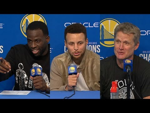 Warriors react to Steph Curry's incredible performance against Timberwolves | ESPN