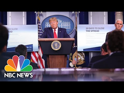 Trump's 'Chinese Virus' Rhetoric Part Of A Long U.S. Tradition Of Scapegoating | Think | NBC News