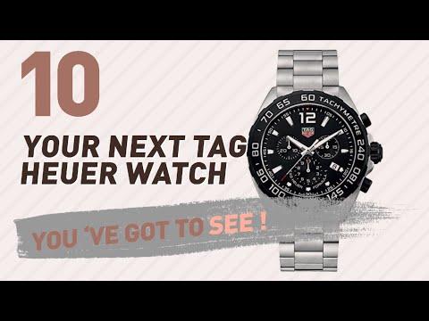 TAG Heuer, Men's Luxury Watches // New & Popular 2017