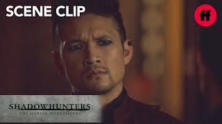 Shadowhunters | Season 3, Episode 9: Magnus Fights With Lorenzo | Freeform