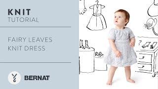 Knit Tutorial: Fairy Leaves Knit Dress