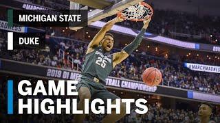 Highlights & Analysis: Michigan State Tops Duke, Heads To Final Four | 2019 NCAA Tournament