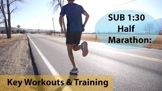 HOW TO RUN A SUB 1:30 HALF MARATHON: Training tips & workouts | Sage Running