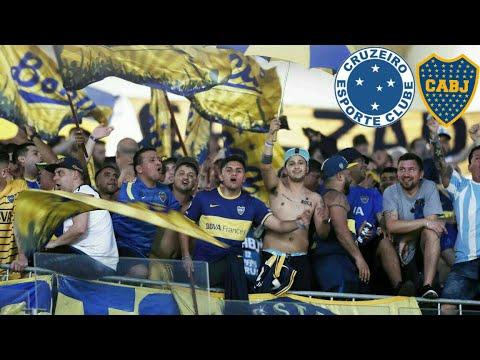 """""""Asi copo la 12 en Belo Horizonte frente al Cruzeiro"""" Barra: La 12 • Club: Boca Juniors • País: Argentina"""
