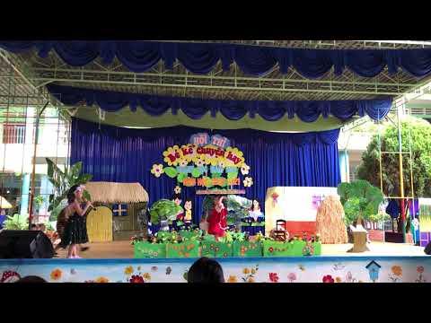 Kể chuyện Cô bé quàng khăn đỏ - Bé Phan Ngọc Lan Vy - trường MN Xuân Hưng