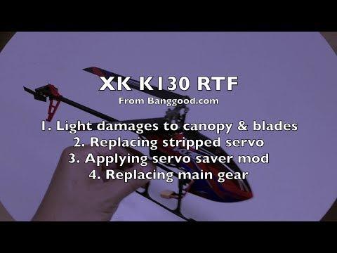 Repairs and Servo Mod