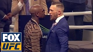 Conor McGregor vs. Floyd Mayweather Final FULL PRESS CONFERENCE | LONDON | UFC ON FOX