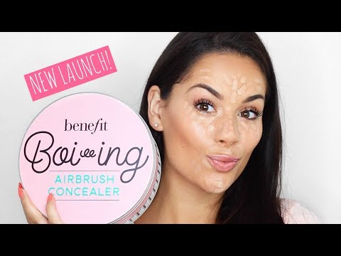 NEW BENEFIT BOIING AIRBRUSH CONCEALER  - TRIED AND TESTED! | Beauty's Big Sister