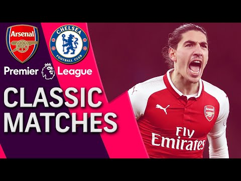 Arsenal V. Chelsea | PREMIER LEAGUE CLASSIC MATCH | 1/3/18 | NBC Sports