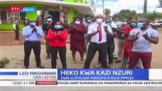Wafanyikazi wa Standard Group PLC wapongeza Madaktari: Heko kwa kazi nzuri
