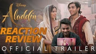 Disney's Aladdin Official Trailer Reaction Review Hindi - In Theaters May 24