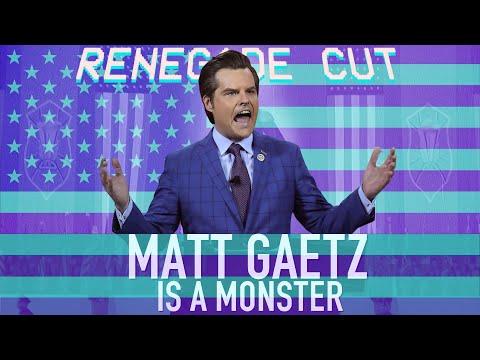 Matt Gaetz is a MONSTER   Renegade Cut