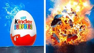 15 взрывов в замедленной съемке / Взрывная блондинка