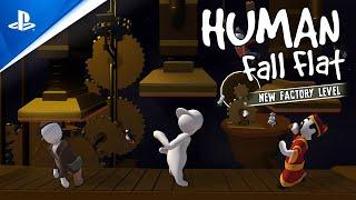 PlayStation Human: Fall Flat - Factory Launch Trailer | PS4 anuncio