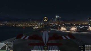 Trường học dạy lái máy bay và nhảy dù trong GTA 5