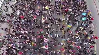 Armenian Genocide March in Los Angeles [Drone Footage]