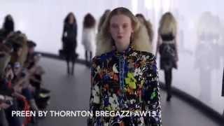 Preen by Thornton Bregazzi AW15 at London Fashion Week