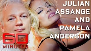 Pamela Anderson and Julian Assange: their unlikely love story | 60 Minutes Australia
