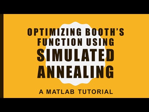 Optimization with #Simulated #Annealing – A #MATLAB tutorial
