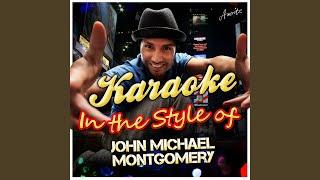 Lời dịch bài hát I Miss You A Little - John Michael Montgomery