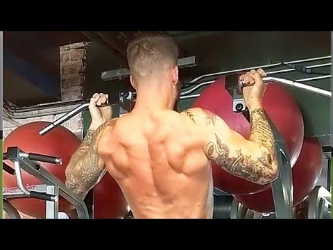 Slow Wide-Grip Chin-Up