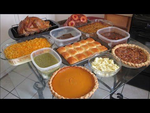 Charlie's Thanksgiving 2018 Preparation Video
