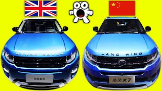 Worst Blatant Chinese Cloned Copycat Cars