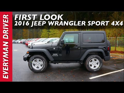 First Look: 2016 Jeep Wrangler on Everyman Driver