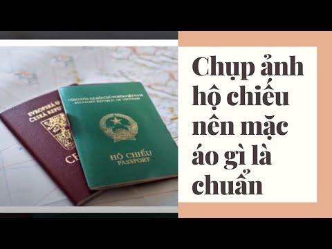 Chụp ảnh hộ chiếu nên mặc áo gì là chuẩn