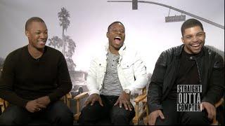 Straight Outta Compton Interviews - Cube, F. Gary Gray, Hawkins, Mitchell, O'Shea Jackson Jr.