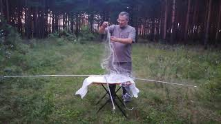 Рыболовный паук своими руками 2 на2