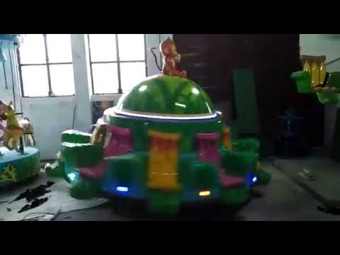 Monkey Tagada Amusement Ride Game