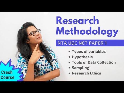 NTA UGC NET Paper 1- Research Methodology (Crash Course ...