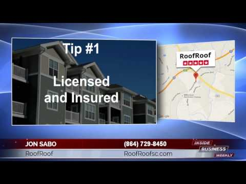 https://www.roofroofsc.com; How To Find the Best Roofing Contractor in Greenville SC. Jon Sabo informs the...