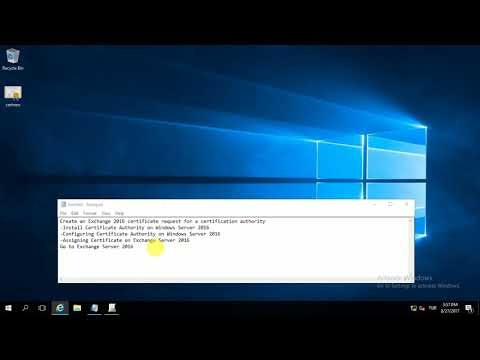 Install and Configure Certificate Authority in Windows Server 2016 ...