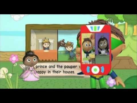 ᴴᴰ BEST ✓ 054 Super Why    The Prince and the Pauper
