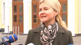 Порошенко та Світлична відвідали перший концерт у відновленій великій залі обласної філармонії