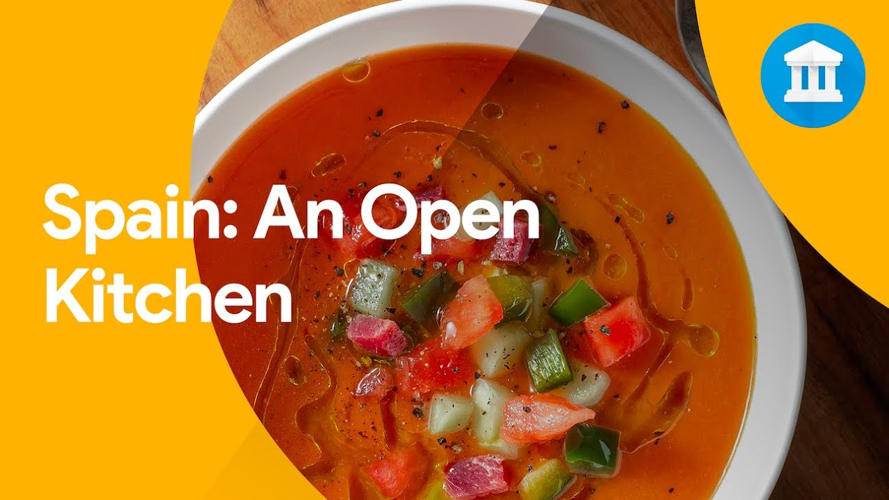 In the Spain: an Open Kitchen exhibit, you can discover the stories behind Spanish cuisine.