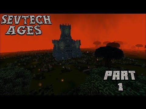 Our First Day In The Betweenlands : SevTech Ages Lp Ep #10