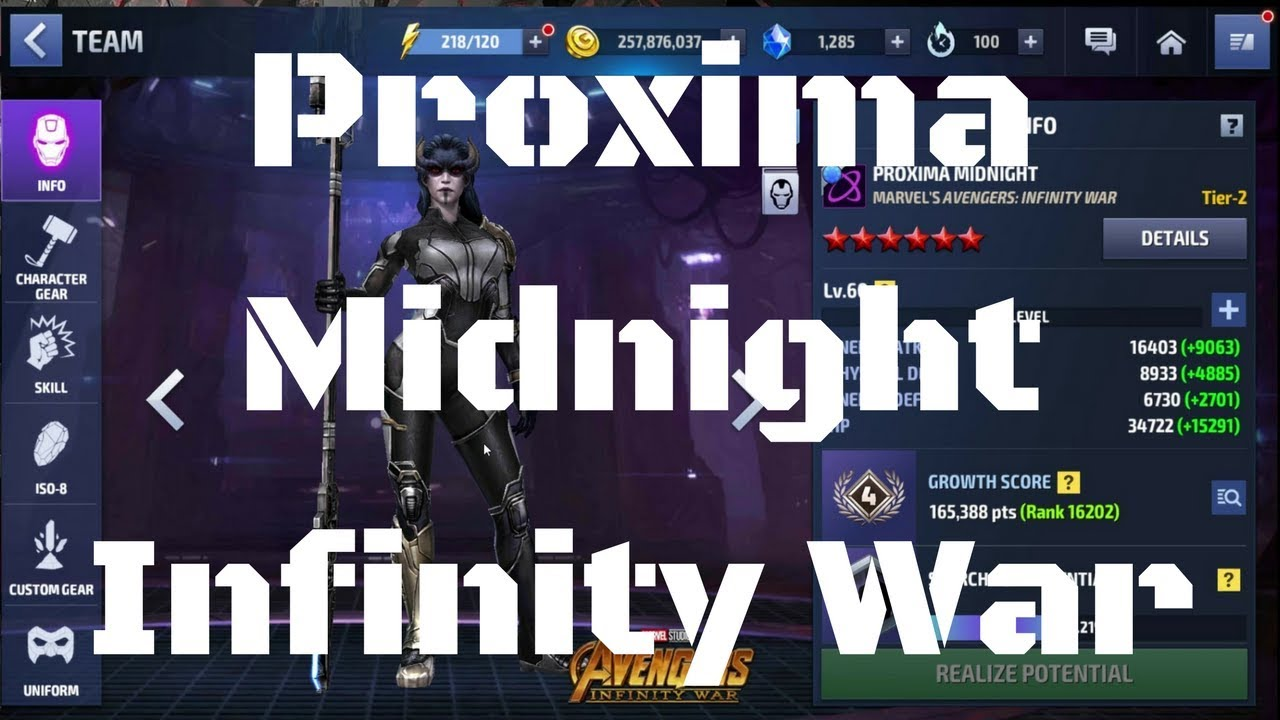 รีวิว Proxima Midnight ยู Infinity War