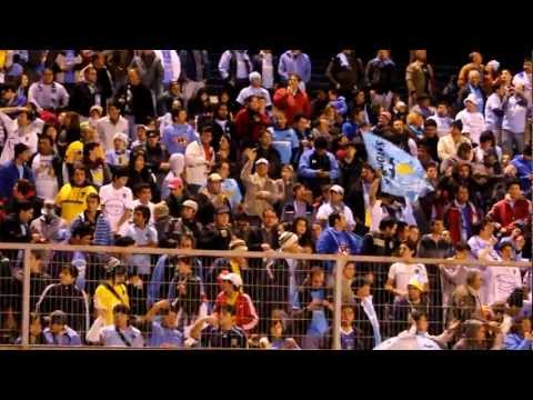 """Hinchada de O´Higgins Wanderers 0 - 1 O´Higgins Fecha 14 Apertura 2012"" Barra: Trinchera Celeste • Club: O'Higgins"