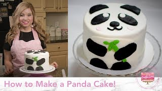 How to Make a Panda Cake